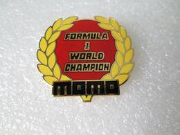 PIN'S    FORMULA 1   WORLD CHAMPION   MOMO    Email Grand Feu   MFS - F1