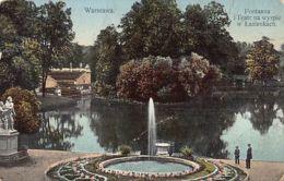 Poland - WARSZAWA - Fontana I Teatr Na Wyspie W Lazienkach - Publ. K. Wojutynskiego 680 - Poland