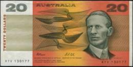 Australia $20 Papermoney Banknote EF - Moneta Locale