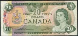 Canada Queen Elizabeth II $20 Banknote 1979 - Canada