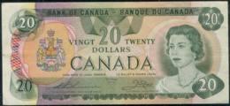 Canada Queen Elizabeth II $20 Banknote 1979  VF - Canada