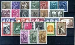 1966 VATICANO ANNATA COMPLETA Ordinaria MNH ** - Full Years