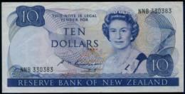 New Zealand Queen Elizabeth II. $10 Banknote 1989-92 #p 172b - New Zealand