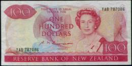 New Zealand Queen Elizabeth II. $100 Banknote 1981-85 - Nieuw-Zeeland