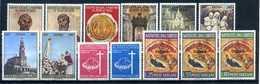 1967 VATICANO ANNATA COMPLETA Ordinaria MNH ** - Full Years
