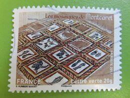 Timbre France YT 875 AA - Patrimoines De France - Les Mosaïques De Montcaret - 2013 - Sellos Autoadhesivos