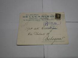 S.MARGHERITA  LIGURE   -- GENOVA  ---  DE LUCA  ALFIO  -- CALZOLERIA - Italia