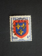 N°105 - Type Armoiries - 4f - LUXE** - Préoblitéré Gomme D'origine - Surcharge Rotative Lourde, Encre Terne - 1893-1947