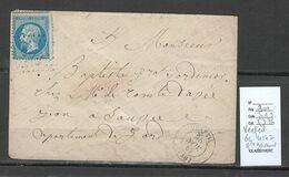 France - Lettre- GC 4142 - VERFEIL - Haute Garonne - 1867 - 1849-1876: Classic Period