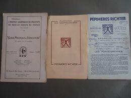 Viticulture -H. Agnel -Guide Pratique De Viticulture 1959 + Pépinières Ritcher Plantation Greffes-soudés - Porte Greffes - Nature