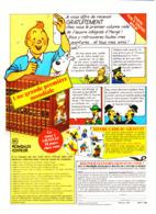 """PUB """" TINTIN """" Editions ROMBALDI 1985 ( 2 ) - Livres, BD, Revues"""
