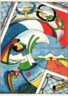 Illustration P.G. Ferraguti: Jeux Olympiques 1992, Alberville, Barcelona - Festival De La Carte Postale - Olympic Games