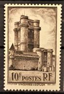FRANCE 1938 - MNH - YT 393 - 10F - Vincennes - Nuovi