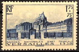 FRANCE 1938 - MNH - YT 379 - 1,75F + 75c - Versailles - Nuovi