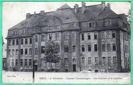 METZ - 2° AEROSTIERS - CASERNE CORMONTAIGNE - LES CUISINES ET LA CANTINE - Metz