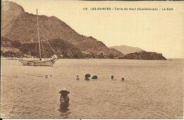 LES SAINTES , Terre De Haut ( Guadeloupe ) , Le Bain , CPA ANIMEE - Other