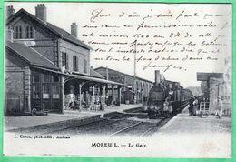 MOREUIL - LA GARE - Frankreich