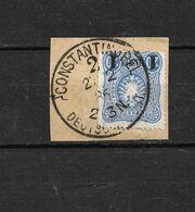 Deutsche Reichs Post - 20 Pfennig / Constantinopel (Constantinople) 1886 / Oblitéré - Deutschland