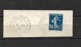 République Française - 20 C / Constantinople-Pera 1908 / Oblitéré - Gebraucht
