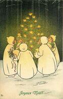 M.M VIENNE M.MUNK  Pauli EBNER  Joyeux Noel  N° 404 - Ebner, Pauli