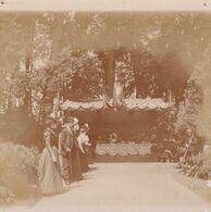 Photo Originale 1900 Château De Bouillon Baulers Buffet - Orte