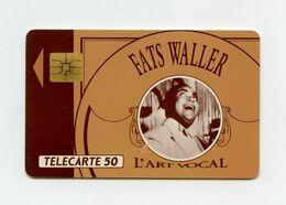 Fats Waller . Chanteur De Jazz Télécarte 50 Unités . - Music