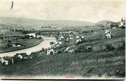 HONGG - VUE GENERALE En 1909 - - ZH Zurich