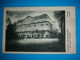 Poland,Warszawa,Polonia Hotel,Varsovie Polonia Palace Hotel,vintage Postcard - Hotels & Restaurants