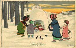 M.M VIENNE M.MUNK   Pauli EBNER  Buon Natale    N°694 - Ebner, Pauli