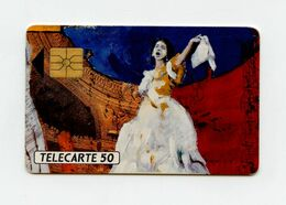 Chanteuse D'Opéra Télécarte 50 Unités . - Music