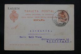 ESPAGNE - Entier Postal De Barcelone Pour L'Allemagne En 1921 - L 71462 - 1850-1931