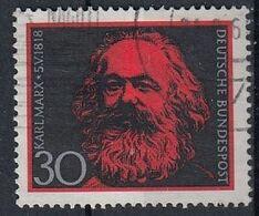 GERMANY Bundes 558,used - Karl Marx