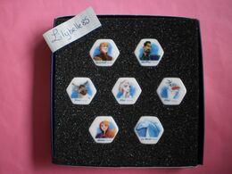 Coffret Série Complète De 7 Feves Disney En Porcelaine LA REINE DES NEIGES II 2020 ( Feve Figurine Miniature ) - Disney