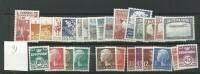 1981 MNH Denmark, Dänemark, Year Complete, Postfris - Volledig Jaar