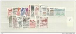 1978 MNH Denmark, Dänemark, Year Complete, Postfris - Volledig Jaar