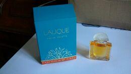 """Miniatures De Parfum Lalique   """" Femme """"  Eau De Toilette - Miniaturen Damendüfte (mit Verpackung)"""