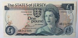 Jersey, 1 Pound (1 Livre), Type De La Rue, Non Daté - Jersey