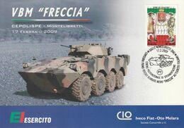 """Militari - Montelibretti (RM) 2009 - Consegna Primo Veicolo Blindato Medio """" Freccia """" All' E.I. - - Regimente"""