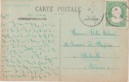 AUTEUIL : CP ECRITE EN ESPERANTO PLUS TIMBRE . 1926 . - Esperanto