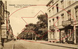 Winkels (Libraire Papeterie Dumonceau, Avenue Chs Jansens - Karel Janssenslaan).....Oostende - Ostende - Ostend (DOOS 5) - Oostende