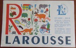 CLASSEUR AA / Buvard , 21 X 13,5 , R ,  Pub Larousse  TB - R