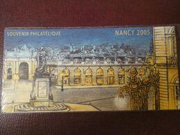 FRANCE 2005 BLOC SOUVENIR N°14 NANCY LIVRE DANS SON BLISTER FERME COTE 8 EUROS - Foglietti Commemorativi