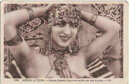 MAROC - SCENES & TYPES - JEUNE FEMME KABYLE PAREE DE SES BIJOUX - Femme Seins Nus - Sonstige