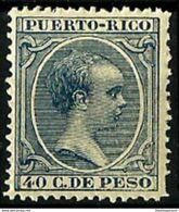Puerto Rico ** 99 En Nuevo Sin Charnela. - Puerto Rico