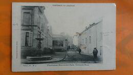 Fontenoy Le Chateau - Fontaine Monumentale Grande Rue - France