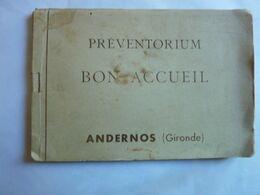 Préventorium BON ACCUEIL - ANDERNOS - Carnet De 10 Cartes - Andernos-les-Bains