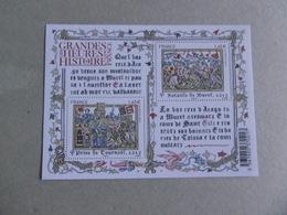 2013  F4828   P4828/4829 * *   HISTOIRE DE FRANCE BATAILLE DE MURET - Nuovi