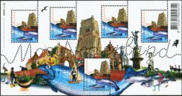NETHERLANDS 2006 Mooi Nederland Woudrichem Pretty Netherlands Fish Fishes Bird Birds Animals Fauna MNH - Fische