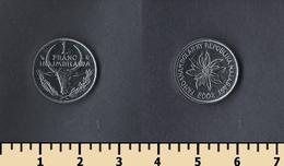 Madagascar 1 Franc 2002 - Madagascar