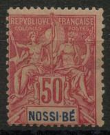 Nossi Bé (1894) N 37 * (charniere) - Unused Stamps